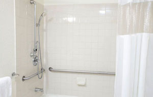 install grab bar shower